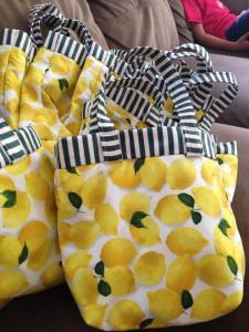 Ann's handmade bags